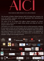 38. AICI: Association of Italian Cultural Institutions