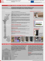 40. Team: Architectural representation and computer graphics unit of the Dipartimento di Architettura of the University of Bologna